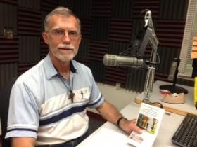 Fr. Tom Smith at KRWG studios.