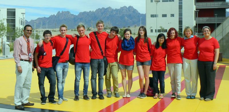 German Students Visit Las Cruces Krwg