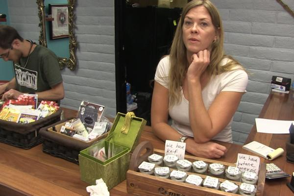 Mandy Denson is the Co-owner of Compassionate Distributors dispensary, Ruidoso- she says the New Mexico medicinal program needs to be more conscious of challenges posed by federal prohibition.