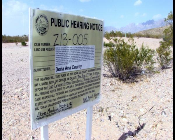 Residents are concerned the proposed commercial zoning of a piece of land near Tortugas mountain would ruin the surrounding recreational area