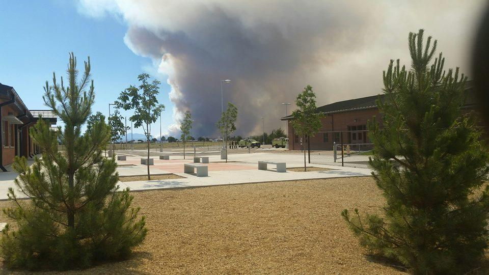 Cedar Creek Fire south of Show Low grows to 1000+ acres