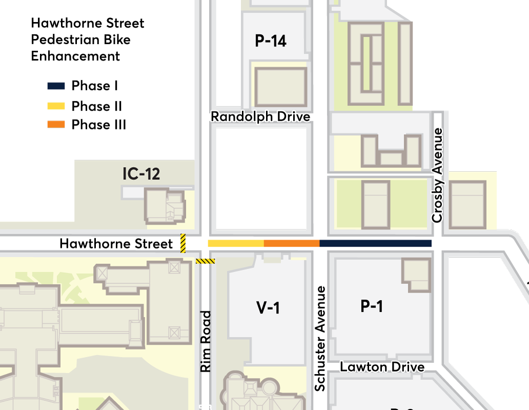 Campus Map Utep.Utep S Hawthorne Street Project In El Paso To Start Phase Ii Krwg