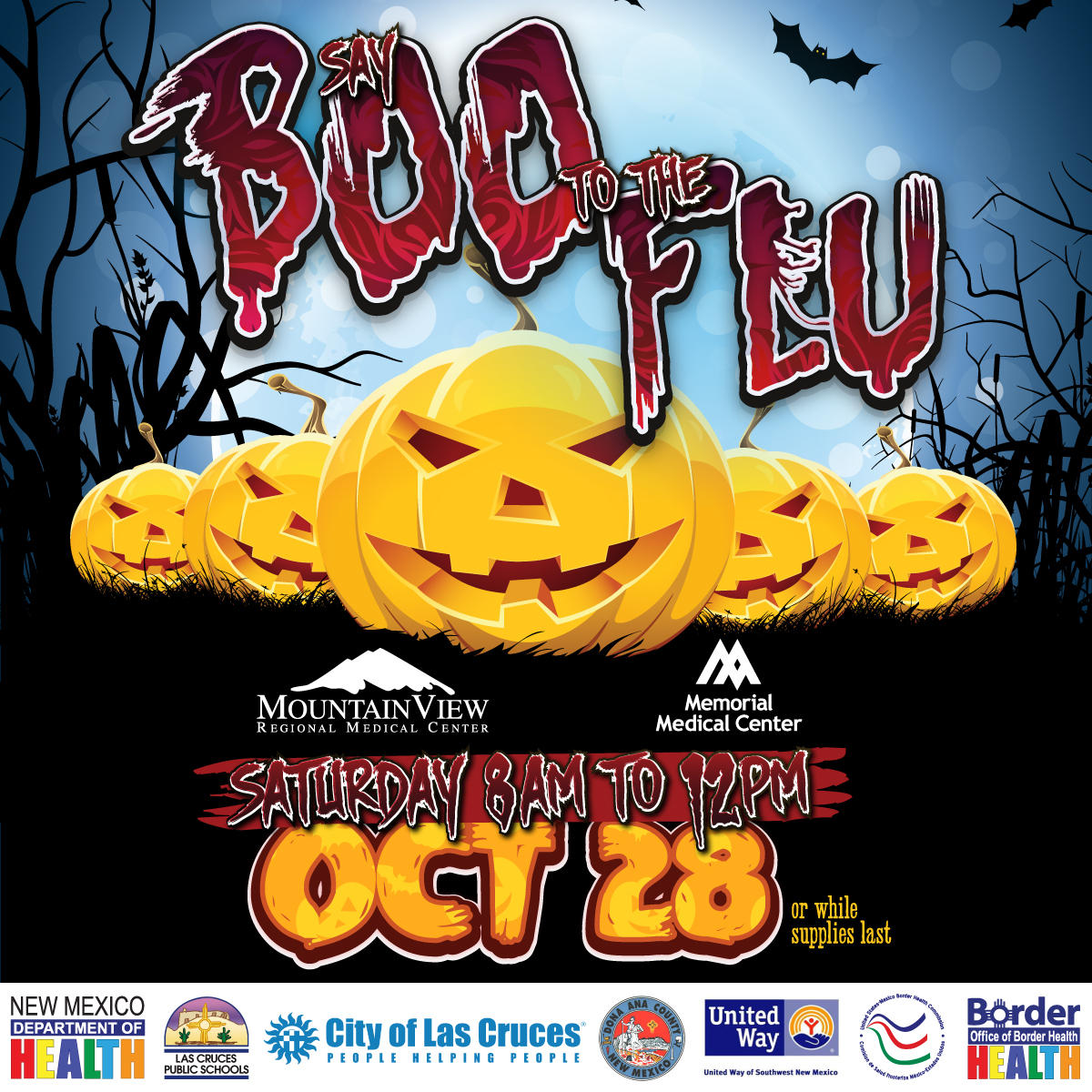 Say Boo To The Flu No Cost Flu Vaccinations Offered In Las Cruces
