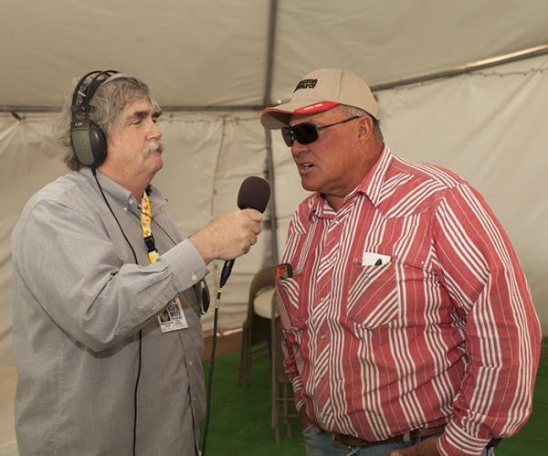 KSFR's Charles Maynard interviews Rodeo de Santa Fe President Jim Butler