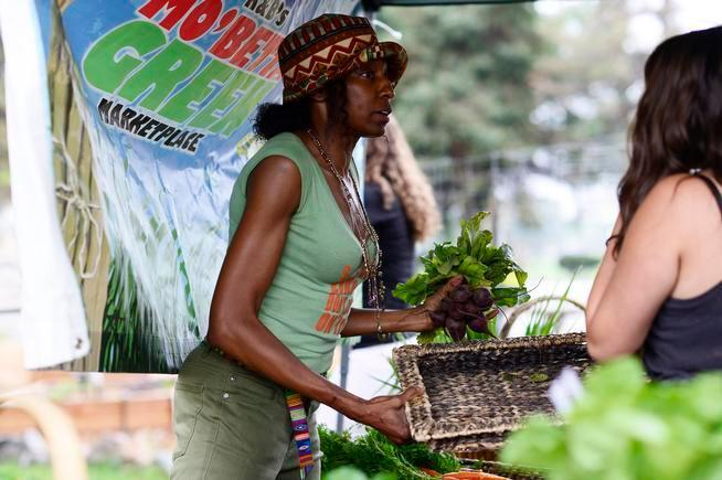 Beverly Grant brings farmers markets to Denver food deserts and swamps.