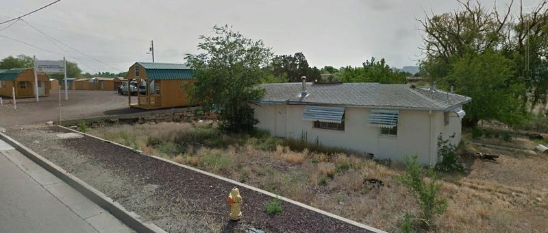 The City of Cortez hopes to build a connection to the Mesa Trail through this property owned by the Cortez Fire Protection District. In return, the City would waive the fees for the new fire station.