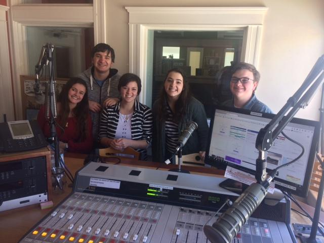 "Members of the cast of ""Once Upon A Mattress"" joined Austin Cope in the KSJD studios"