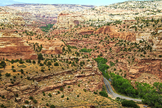 Grand Staircase Escalante National Monument in southern Utah is one of the 27 monuments currently under review by the Trump Administration