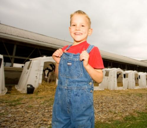 While this young man may have a path to farming, many young adults have to find innovative apporaches.