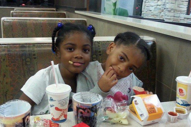 The victims have been identified as Hannah Elizabeth Rosalina Marshall, age 8, and Makayla Victoria Roberts, age 10.