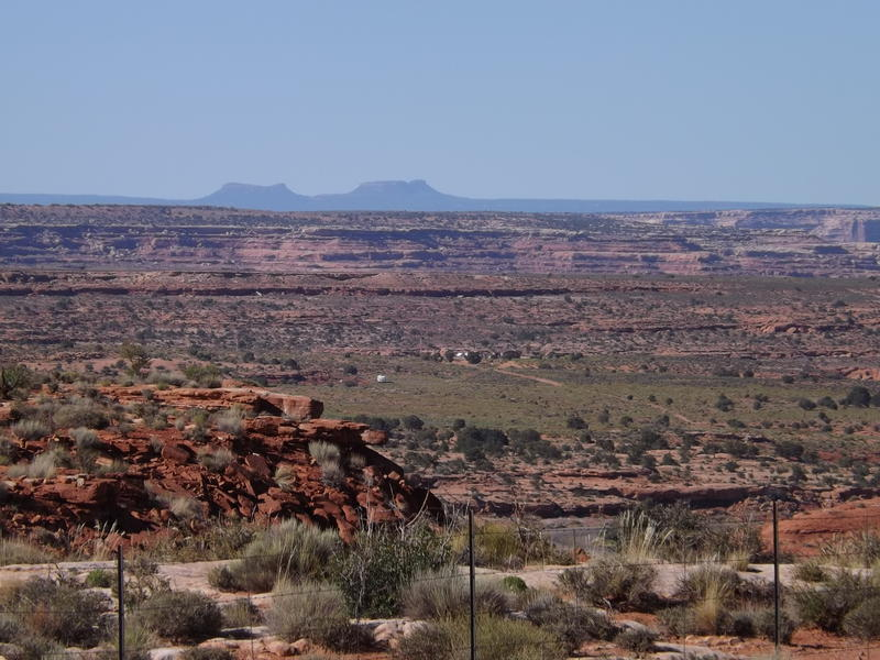 Bears Ears National Monument from Near Mexican Hat, Utah