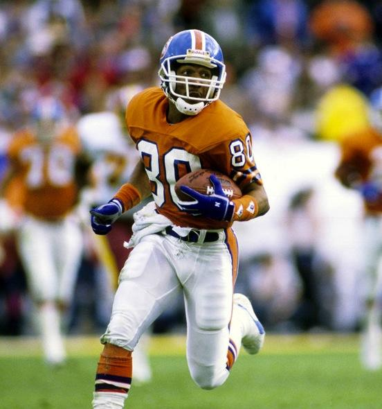 Broncos wide receiver Mark Jackson in 1986
