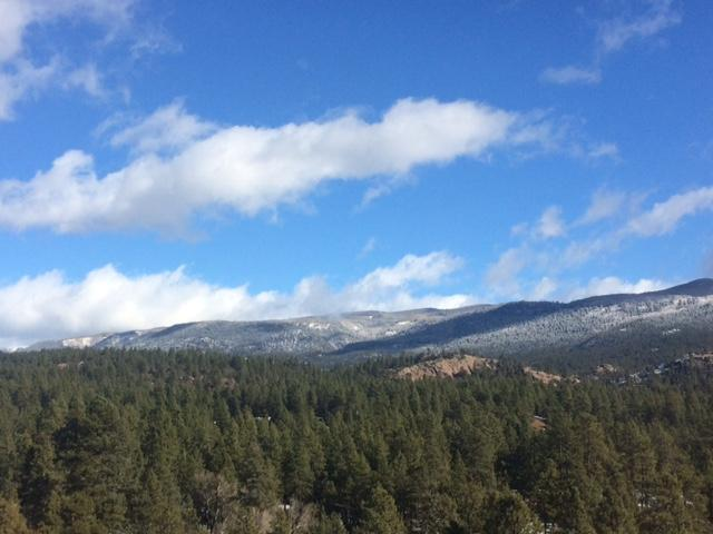A view of the San Juan National forest north of Durango in December 2016