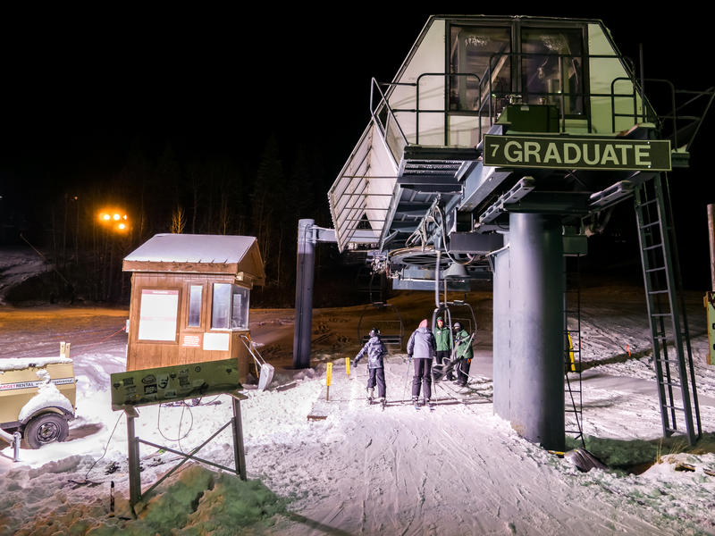 For the first time in over 15 years, Purgatory Resort is offering night skiing. The activity is intended to replace night skiing at Hesperus Ski Area, which has been unable to open this season due to lack of snow.