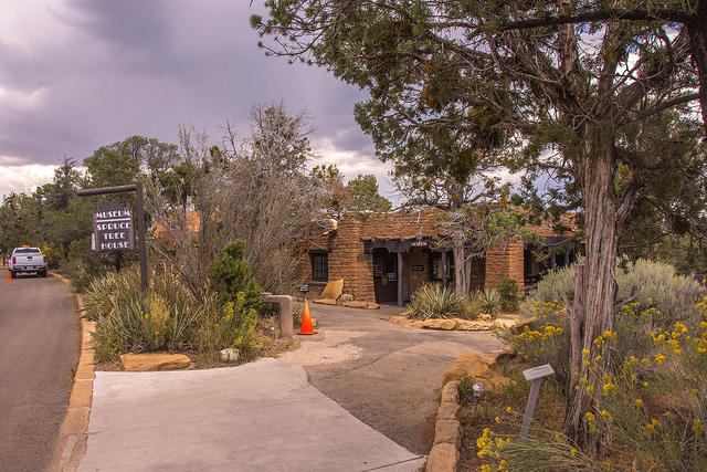 Services at Mesa Verde National Park, such as the Chapin Mesa Museum, were limited Monday due to the partial government shutdown.