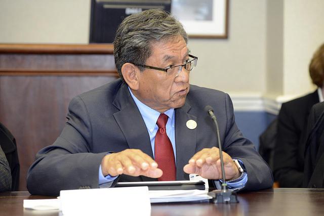 Navajo President Russell Begaye
