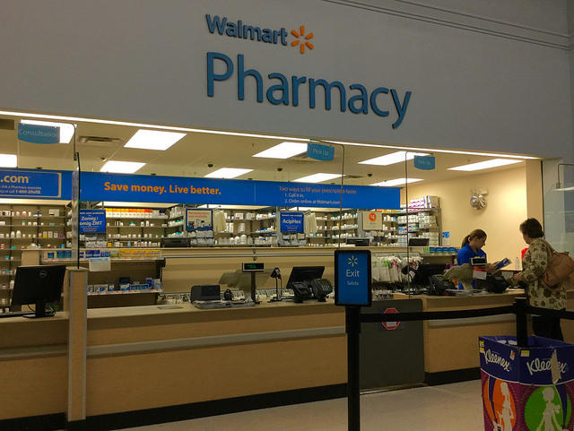 Walmart Stores, Inc. is one of the companies named in the suit, which includes a group of other opioid developers, manufacturers, and sellers.