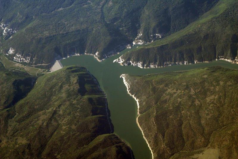McPhee Reservoir.