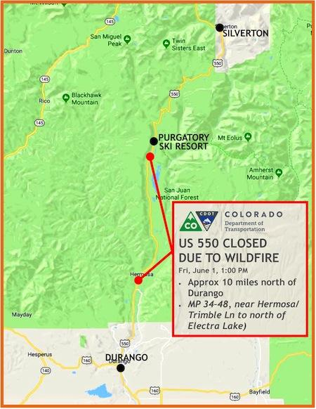 416 Fire Near Durango 10 Percent Contained As Of Monday Afternoon Ksjd