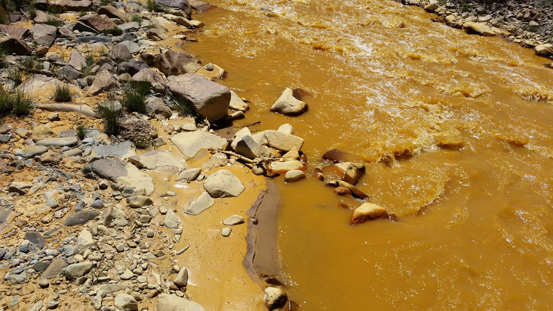 The Gold King Mine spill turned the water of Cement Creek and the San Juan River watershed into an infamous rusty yellow.