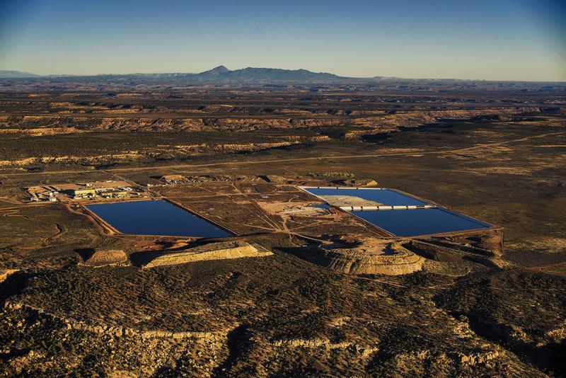 White Mesa uranium mill in southeastern Utah.