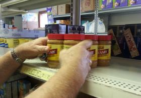 Well of Life, located at 418 S. Kimbrough, stocks the pantry shelves with donations from churches, as well as partnering with Ozarks Food Harvest.