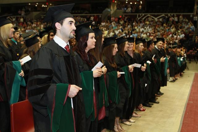 MSU graduation spring 2012/Credit MSU Photographic Services