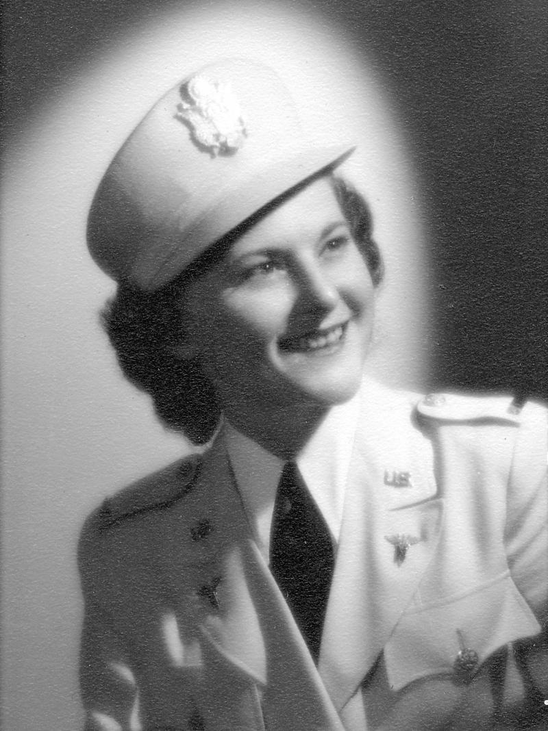 Gloria Eberhardt Mettler was interviewed by her granddaughter, KSMU's Jennifer Moore Davidson, in 2008. She served in WWII as a