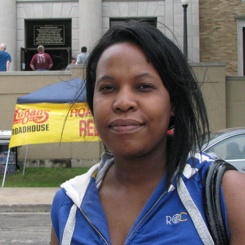 Emergency Room Nurse Carol Chinyani, who was on duty at St. John's Regional Health Center in Joplin during the tornado. (Photo