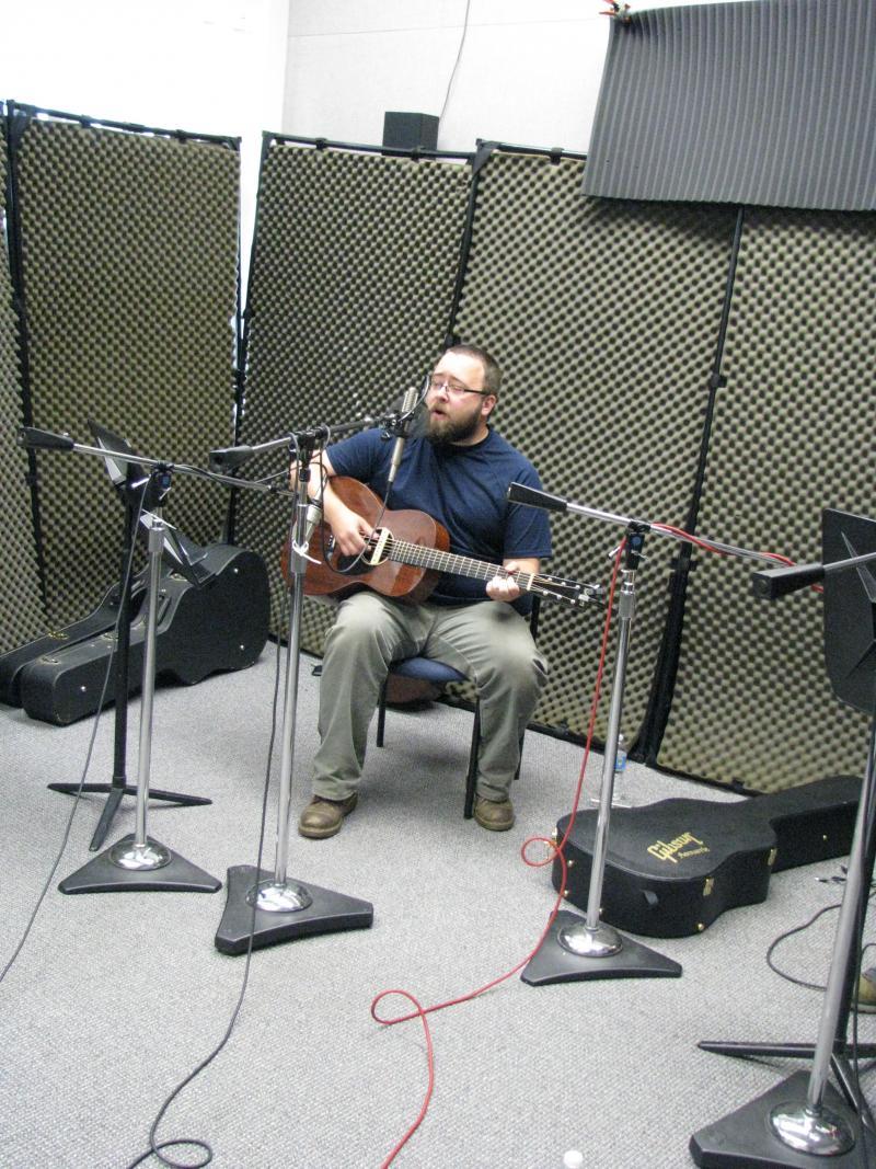 Barak Hill on KSMU Studio Live