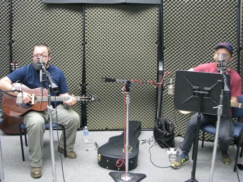 Barak Hill and Kevin Cott on KSMU Studio Live