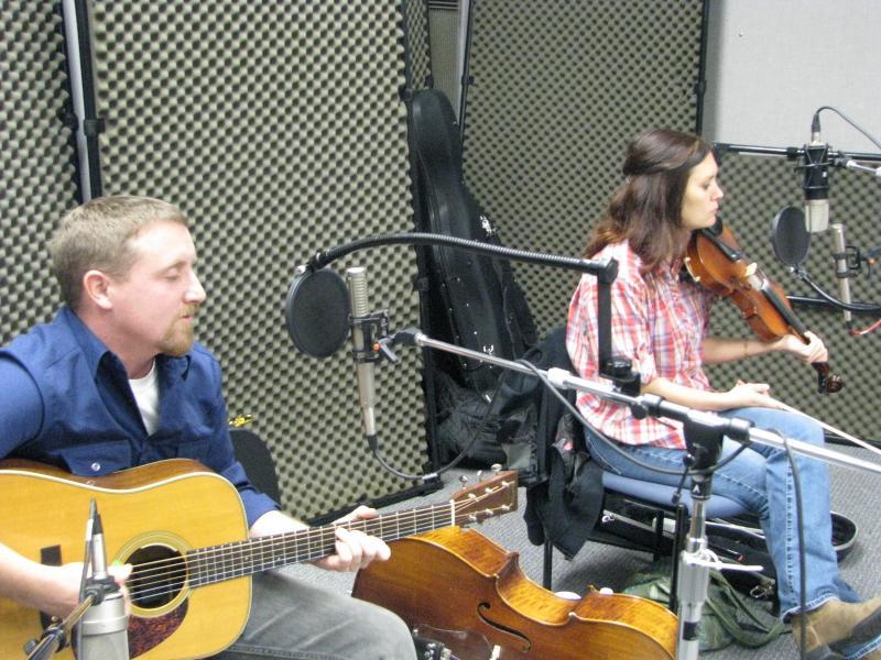 Dallas Jones and Molly Healey on Studio Live