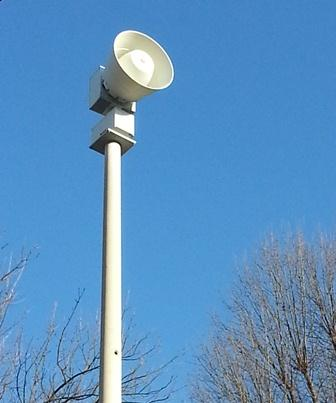 Warning siren at 1538 S. Holland Ave, one of dozens in Springfield/Credit: Scott Harvey