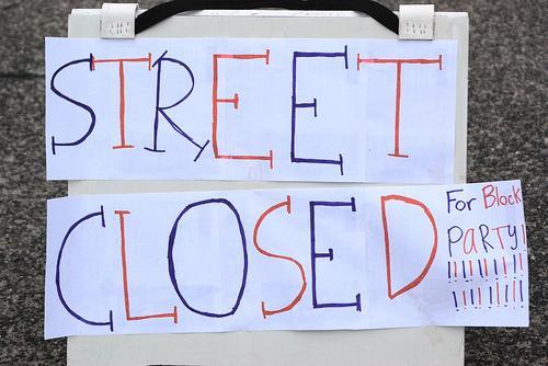 Neighborhood and Planning Office representative Randall Whitman suggests throwing block parties to strengthen neighborhoods.