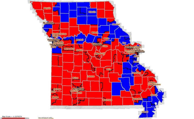 Missouri House Districts 2006-2008