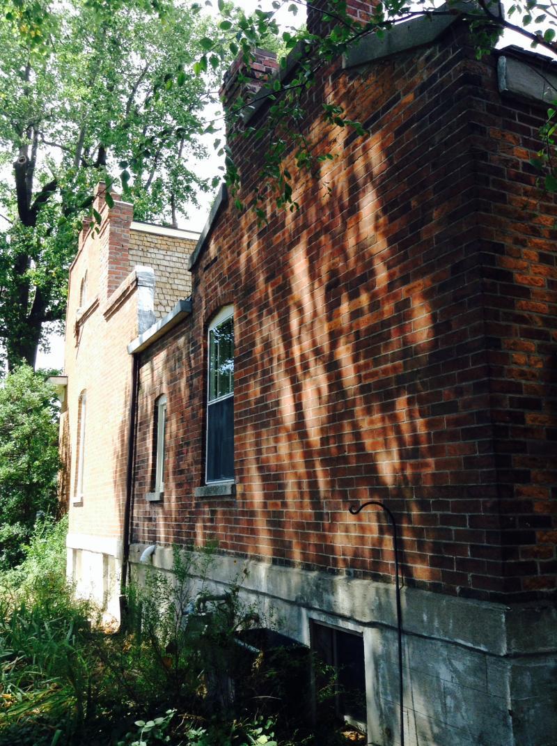Original Brick on Day House