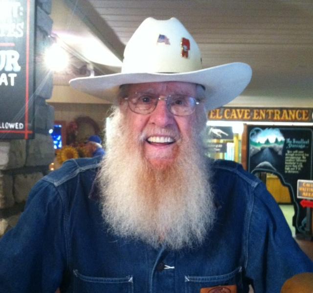 Silver Dollar City Official Greeter Gene Bortner