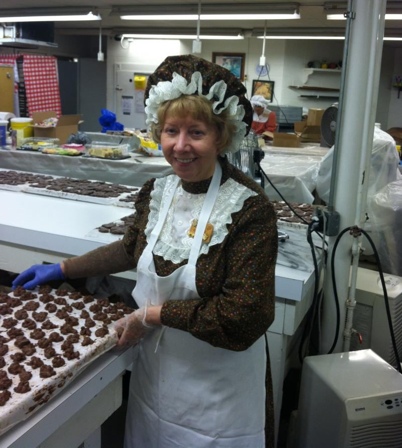 Master Candy Maker June Ward