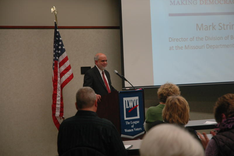 Missouri Department of Health Official Mark Stringer