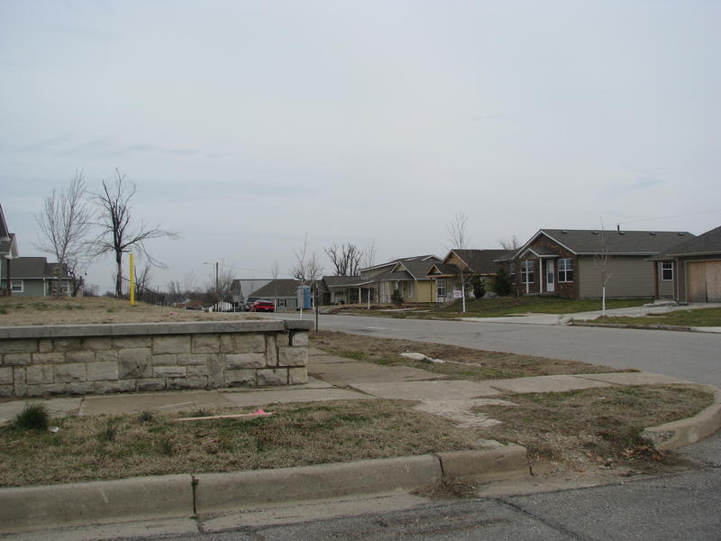 New Houses That Have Been Built in the Tornado Devasated Area