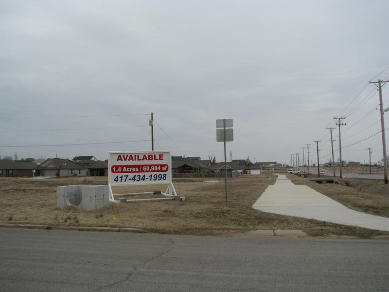 Land for Sale in the Joplin Tornado Zone