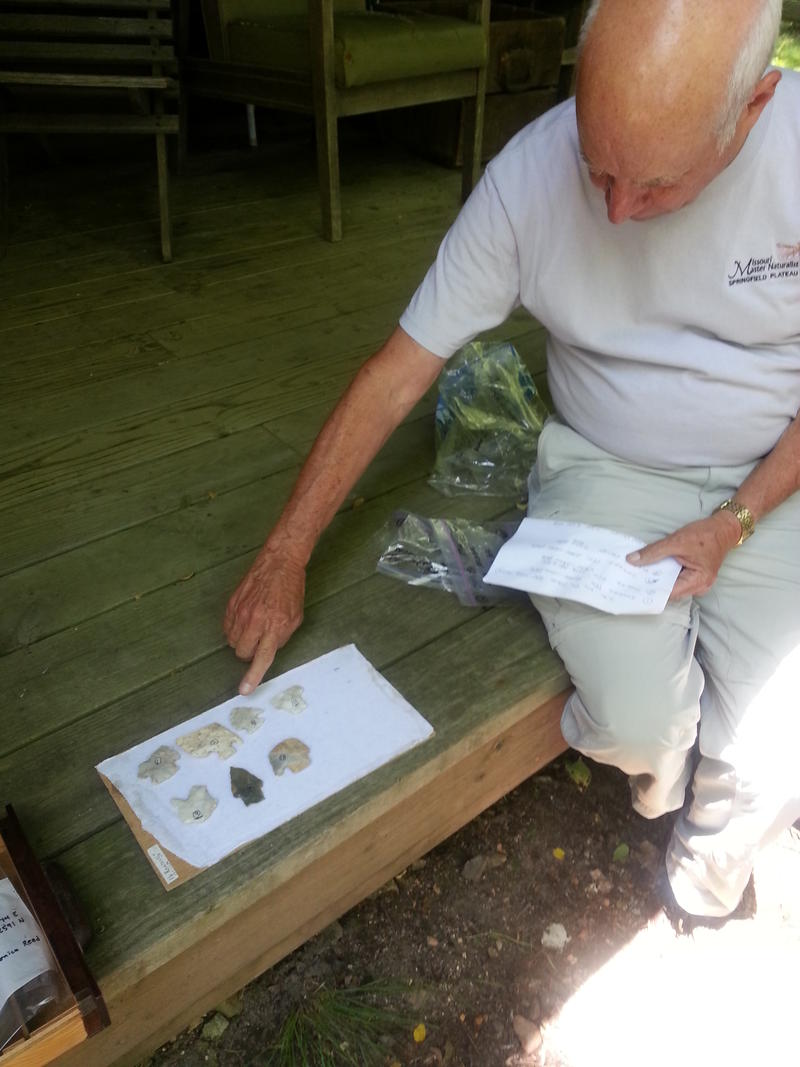 Kipfer points to artifacts uncovered on his property that date back as far as 10,000 years.
