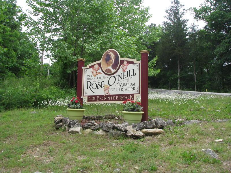 Sign at Bonniebrook