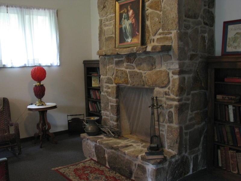 A Fireplace at Bonniebrook