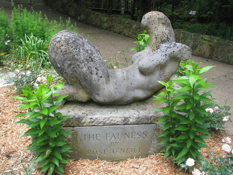 The Fauness, a Sculpture by Rose O'Neill