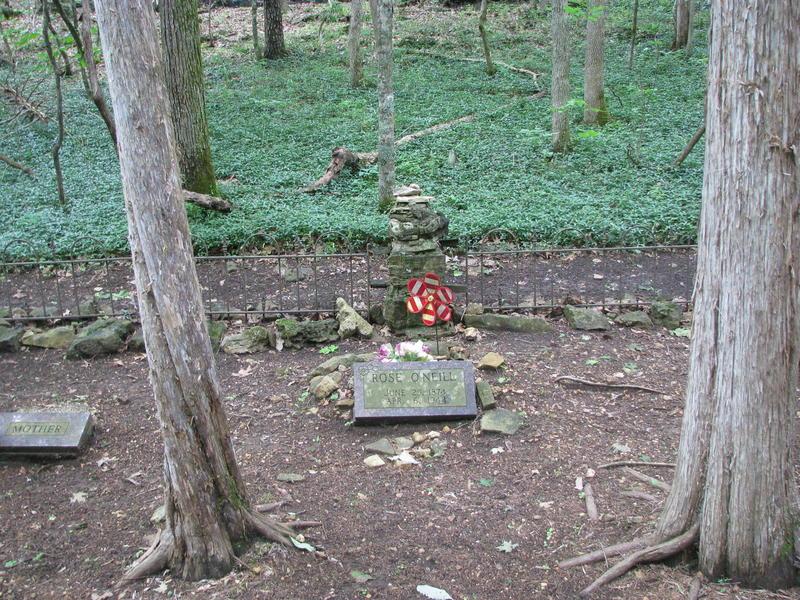 Rose O'Neill's Grave