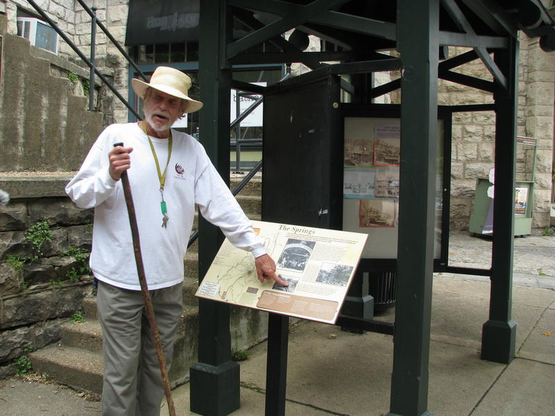 Ralph Wilson talks about Eureka Springs' History