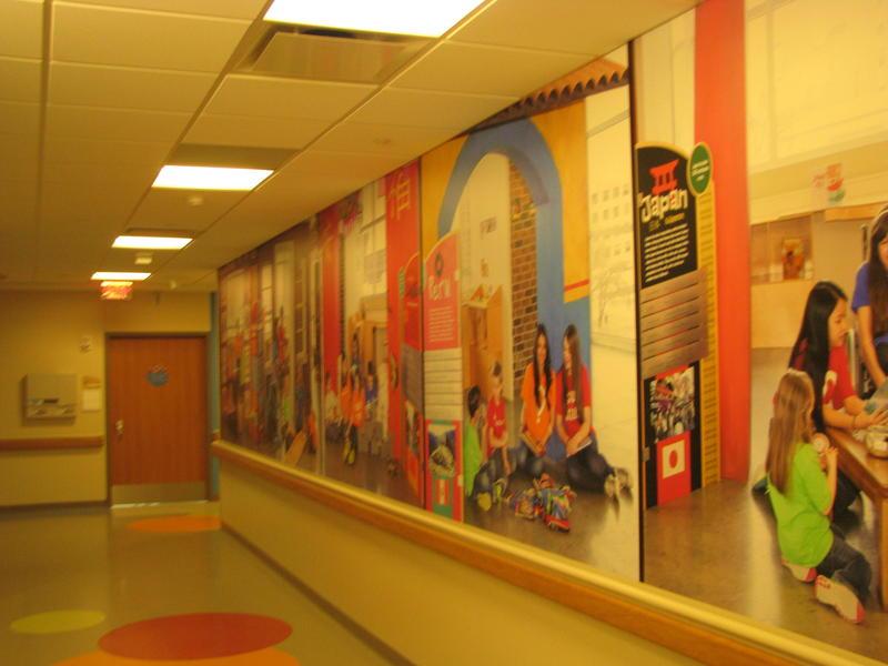Wall in Pediatrics