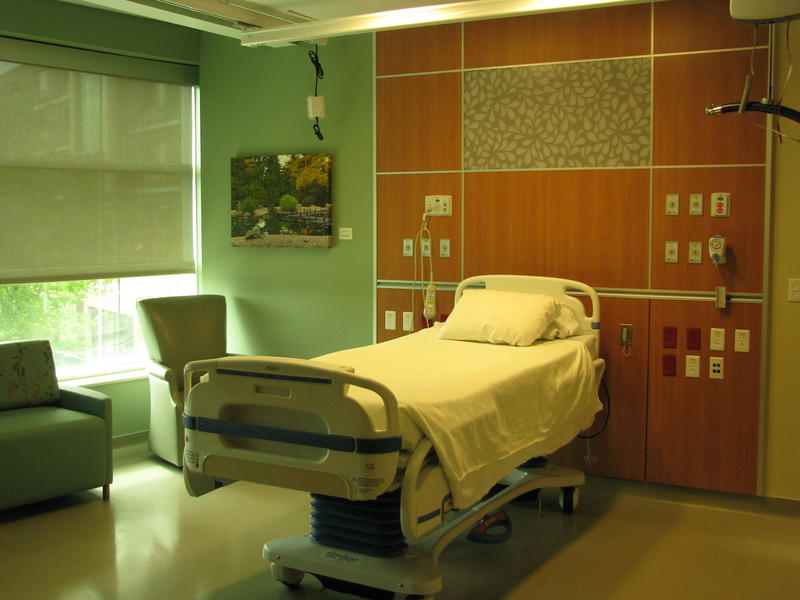 Patient Room for New Moms