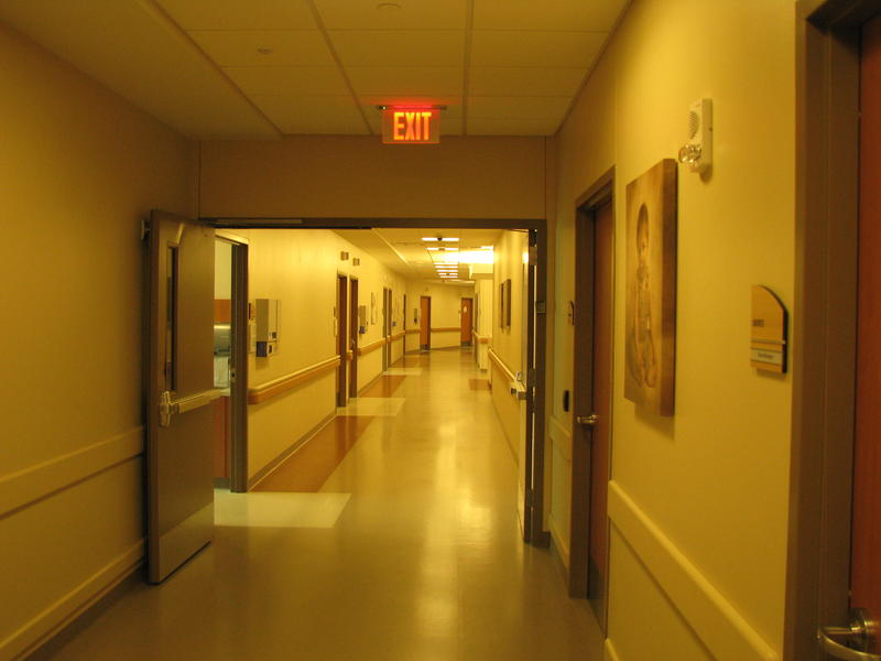 Hallway in West Tower
